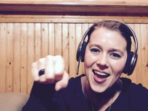 Katie Milton Fistbump