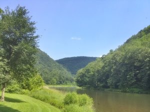 Grand Canyon along the Pine Creek Rail-Trail in PA